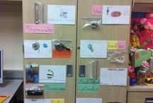 Interactive Word and Math Walls
