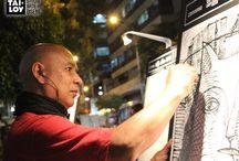 Lienzos Urbanos: Exhibición de obras del ART JAM 2013 -2014 / Arte Manifiesto y Tai Loy #StudiodeArteyDiseño presentan Lienzos urbanos. La muestra va del 17 al 30 de Abril en la galería C.C. Ricardo Palma de Miraflores.