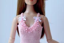 muhteşem Barbie örgü kıyafetleri