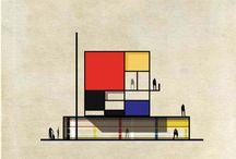 Artist-Piet Mondrian