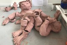 sculptures by Jeanette Fyhr