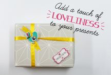 MIP//Giftwrapping / Ideas for DIY gift wrapping