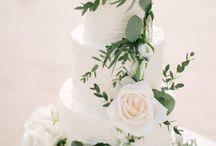 Cake flower decoration