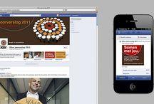 Elker jaarverslag 2011 / Voor Elker ontwikkelde Dizain (www.dizain.nl) een jaarverslag op Facebook. Elker is hiermee de eerste Nederlandse jeugdzorgorganisatie die haar jaarverslag via dit social-mediakanaal publiceert. Het jaarverslag is gepubliceerd op de dag dat Facebook overging op de nieuwe Timeline en maakt volledig gebruik van alle nieuwe mogelijkheden.