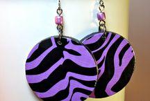 Handmade Statement Earrings / Handmade statement earrings on Etsy. / by BluKatDesign