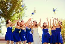 Blue bridesmaids dresses Gives a refreshment to your wedding
