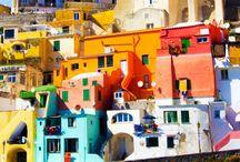 Voyage en couleurs / Du voyage en couleur.