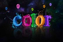 Color / All the awesome colors that I love. / by Darla Dawn Oliver