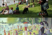 Paintings recreated