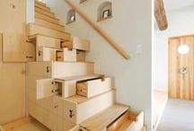 schody s úložným prostorem