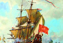 Ships - XVI-XVIII c.