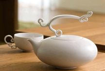 Tea Kettles & Pretty Dishes