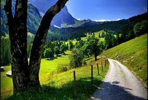 Роскошные пейзажи