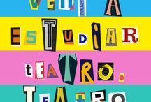 nuestros talleres marzo 2015 / clases de actuacion / by La Hormiga Teatro