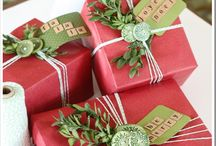 Wrapping / by TheHolidayBarn.com