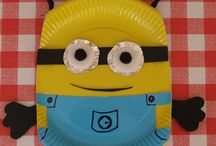 Minion crafts / by Vickie Stone Chafin