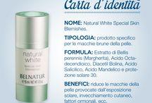 Carte d'identità / Le caratteristiche dei nostri prodotti di bellezza