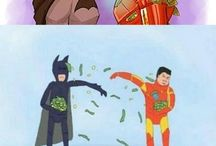 Comic and superheroes
