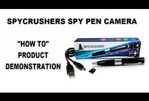 SpyCrushers Product Demonstration Video / Watch these easy to follow product demonstration & instructional vidoes and learn how to successfully operate and enjoy your SpyCrushers device.
