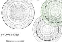 tableware.  Glass 硝子
