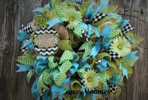 Spring & Summer Wreaths / by Connie Sawyers