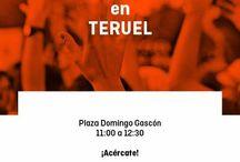 Carpas Informativas C's Teruel / Ciudadanos Teruel, agrupación de C's Aragón quiere acercarse a la ciudadanía a pie de calle, conocer sus inquietudes y sus reivindicaciones. Carpas Informativas y mesas informativas de nuestros proyectos para los ciudadanos