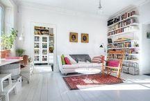 interieur wit + kleur