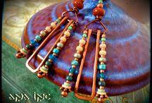 Amazing bohemian boho earrings!