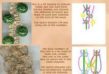 DIY - macramé knopen