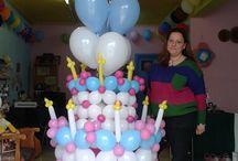 Μπαλόνια  για  βάπτιση 1