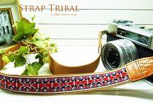 Lusikka trival pattern camera strap / Lusikka trival pattern camera strap