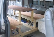 Van: beds / Converted vans bed solutions
