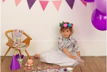 fairies and princesses / princess, crowns, feathers, fairies, pinks, purples, whites, bright neons... she can't make up her mind- so this is her party theme! / by Sheila Rich