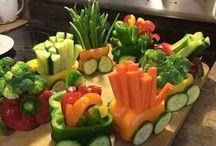 salade et décoration