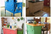chalk paint works / Recycling old furniture