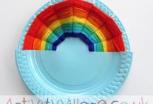 Rainbow Activities / Rainbow crafts for kids, rainbow colouring and rainbow printables! / by www.ActivityVillage.co.uk