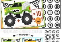 Homeschool Printable Worksheets / Worksheets, games, crafts, lap books, phonics etc.