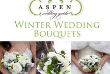 Winter Wedding Bouquets and Decor / Winter wedding flowers for your mountain wedding.