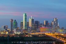 Dallas and Fort Worth Texas skyline photos / Photographs on this board will include the downtown skylines of Dallas and Fort Worth, Texas.