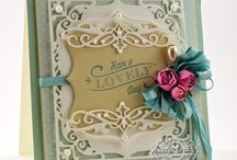 Die Cutting Delights / Ideas for die cutting with a variety of dies.