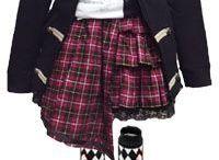 trajes goticos