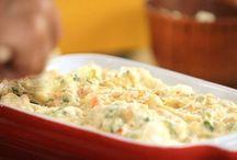 Saladas e suflê