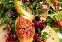 salads/ starter plates