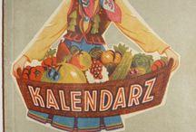 Polish old calendars