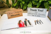 Indian Wedding Signage / You can get creative and fun with guestbooks and other signage at your wedding. Here' some food for thought :)