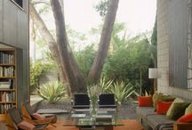 Indoors outdoors // Outdoors indoors / Outdoor living spaces + blurring the lines between indoors + outdoors / by Karlyn Neel