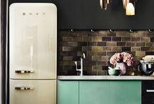 Холодильник в стиле Loft