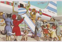 Mainzer kattenkaarten / De vintage kaarten van Alfred Mainzer