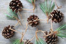 christmas decoration foraging