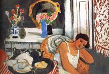 Monet, Gaugain, Matisse